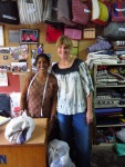 Tara and Staci at Chetana Shop, Pokhara