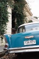 Colonia Blue Car