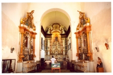 Paraty Church Inside