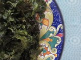 Super Snack!  Crunchy Kale Chips