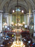 Inside St. Agustin's Church