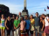 The team at the Rizal Monument