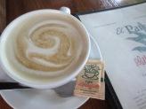 Morning ritual at Cafe Milagro