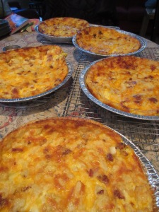 Crustless Quiche with bacon and cheese