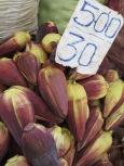 Pettah Market, Colombo - banana flowers