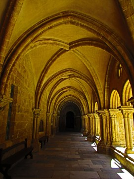 Inside the Gothic Cloister