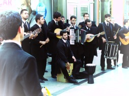 Coimbra Fado in the street