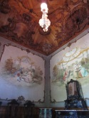 Inside the house
