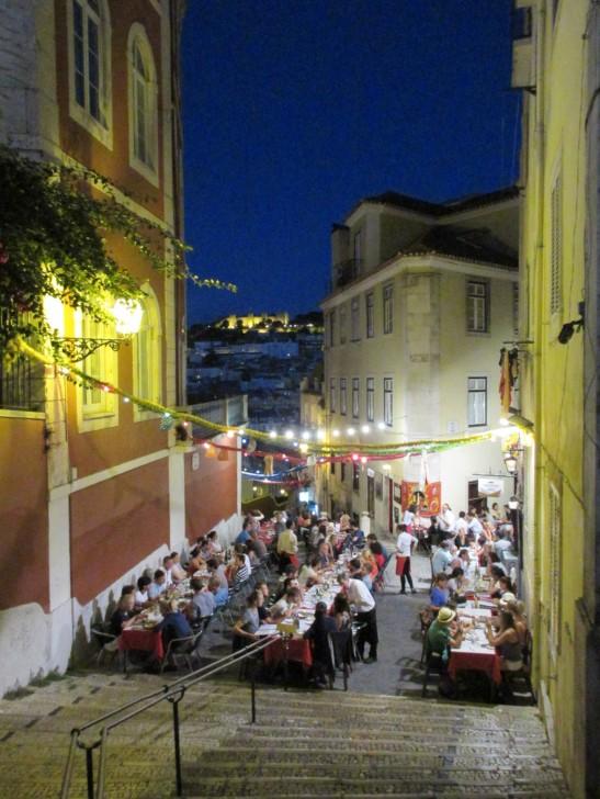 Lisbon's steep hills