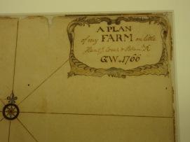 George Washington's Survey of his land at Mt. Vernon