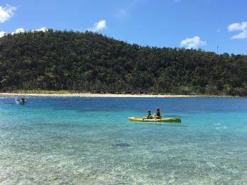 Paradise Cove, kayaking