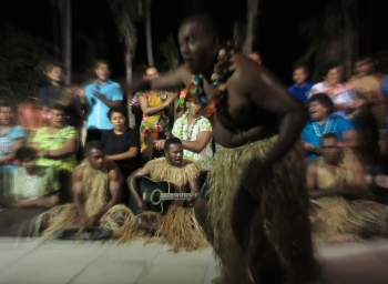Fijian cultural dance, Paradise Cove