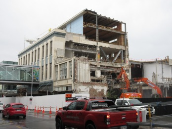 Rebuilding - Downtown Christchurch, New Zealand