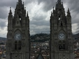 ECUADOR – Climbing Quito'sBasilica