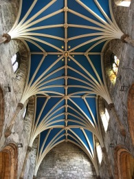 The gorgeous ceiling