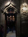 Entering Order of the Thistle Chapel