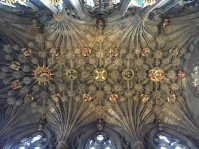 Ceiling of the Chapel