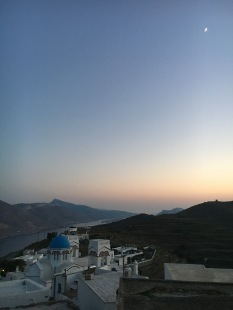 Sunset view from Tholaria