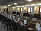 Events still held in the dining room