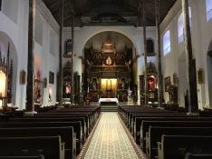 Inside Nuestra Senora de la Merced
