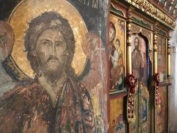 Inside Agios Georgos Valsamitis