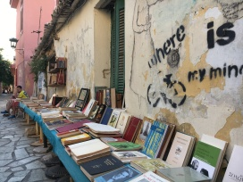 Bookshop on Corner of Thrasivoulou