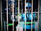 "Steve and Linda ""behind bars""!"