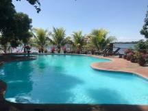 A priviate island pool!