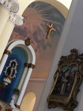 Inside Granada Cathedral