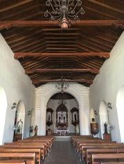 Inside La Iglesia de San Francisco