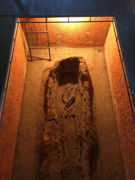 The crypt inside La Iglesia de San Francisco