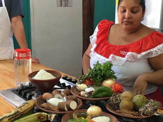 Daniela describes the ingredients
