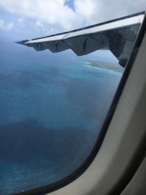 Approaching Big Corn Island