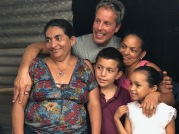 Mike with Tania & Family