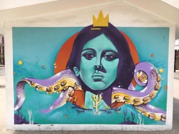 Street Art - Lazaro Cardenas Park