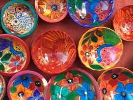 Rolando's hand painted bowls
