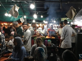 Jemaa El Fna Square Food Stall