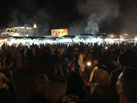 Jemaa El Fna Square at Night