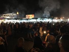 Jemaa El Fna Square at Night