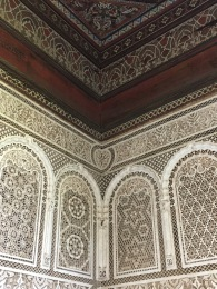 Bahia Palace - plaster work