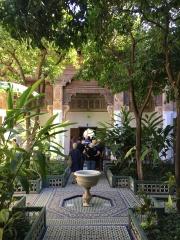 Bahia Palace - gardens