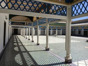 Bahia Palace - courtyard