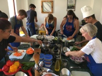 Cooking Class in Session