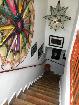 Inside Café Clock
