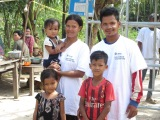 Habitat Global Village CAMBODIA – Work Day 3 | Meet the Family