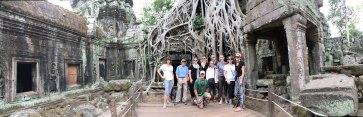 Siem Reap's Ta Prohm, the Tomb Raider temple