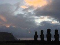 Four Moai
